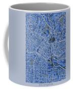Los Angeles Map Retro 5 Coffee Mug