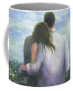 Lovers Looking Forward Brunettes Coffee Mug