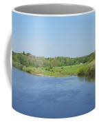 lower river Tweed near Horncliffe Coffee Mug