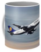 Lufthansa Boeing 747-430 Coffee Mug