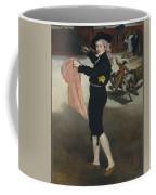 Mademoiselle V      In The Costume Of An Espada  Coffee Mug