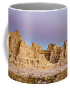 magenta Dawn in the Badlands  Coffee Mug