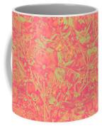 Magnolia Abstract Coffee Mug by Mae Wertz