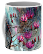 Magnolia At Midnight Coffee Mug