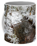 Maisie At The Pond - Winter Coffee Mug by Belinda Greb