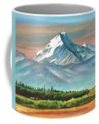 Majestic Mount Cook Coffee Mug