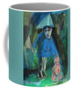 Man In A Park With A Baby Coffee Mug