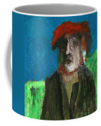 Man In A Red Hat Coffee Mug