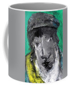 Man In A Scarf Coffee Mug