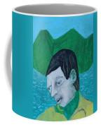 Man Leaving An Island Coffee Mug