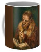 Man Reading 1922 Coffee Mug