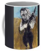 Man Running With A Bird Coffee Mug