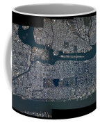Manhattan - 2012 From Space Coffee Mug by Celestial Images
