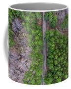 Manistee Pines Panorama Coffee Mug