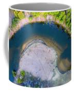 Manistee River Curve Aerial Coffee Mug