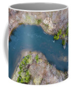 Manistee River From Above Coffee Mug
