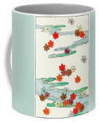 Maple Leaf - Japanese Traditional Pattern Design Coffee Mug