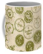 Maritime Motifs Coffee Mug