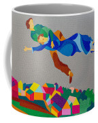 Mark And Bella Chagall Above The City Coffee Mug