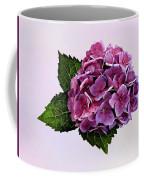 Maroon Hydrangea Coffee Mug