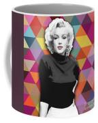Marylin Monroe Diamonds Coffee Mug