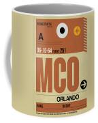 Mco Orlando Luggage Tag I Coffee Mug