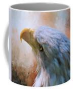 Meant To Be - Eagle Art Coffee Mug by Jordan Blackstone