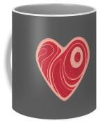 Meat Heart Coffee Mug