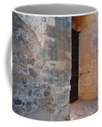 Medieval Castle Entrance In Algarve Coffee Mug
