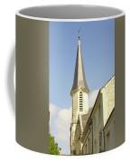 medieval church spire in France Coffee Mug