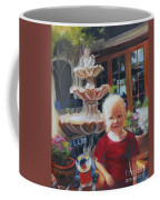 Melody By The Fountain Coffee Mug