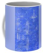 Merry Go Round Amusement Carousel Vintage Patent Blueprint Coffee Mug