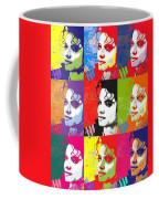 Michael Jackson Andy Warhol Style Coffee Mug