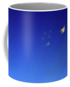 Micro Clouds And Rays  Coffee Mug