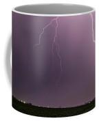 Mid July Nebraska Lightning 019 Coffee Mug by Dale Kaminski