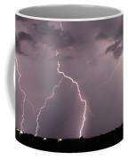 Mid July Nebraska Lightning 020 Coffee Mug by Dale Kaminski