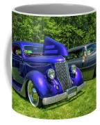 Mild Customs 1936 Ford And 1953 Chevy Coffee Mug