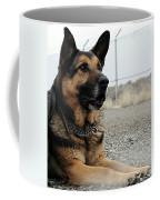 Military Dog Rexo Coffee Mug by Robert G Kernodle