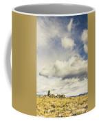 Minimal Mountaintop Meadow Coffee Mug