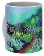 Misty Garden Path Coffee Mug by Jacqueline Athmann