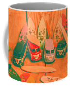 Modelling A Surfing Vacation Coffee Mug