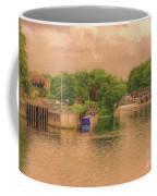 Molesey Lock And Weir Coffee Mug by Leigh Kemp