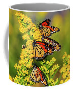 Monarch Gathering 2 Coffee Mug