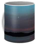 Moon Over Dog Lake Coffee Mug