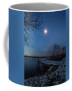 Moonlight Over The Lake Coffee Mug by Davor Zerjav