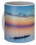 Moonset On Lake Superior Coffee Mug