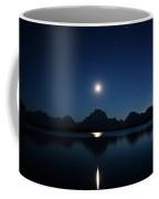 Moonset Reflection Coffee Mug