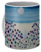 Moonshadow Flower Field Coffee Mug by Kim Nelson