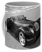 Morgan Aero 8 Black And White Coffee Mug
