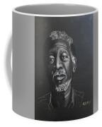 Morgan Freeman Coffee Mug by Richard Le Page